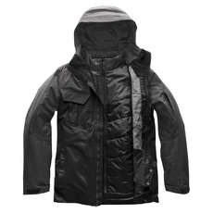 Fourbarrel Triclimate - Manteau à capuchon 3 en 1 pour homme