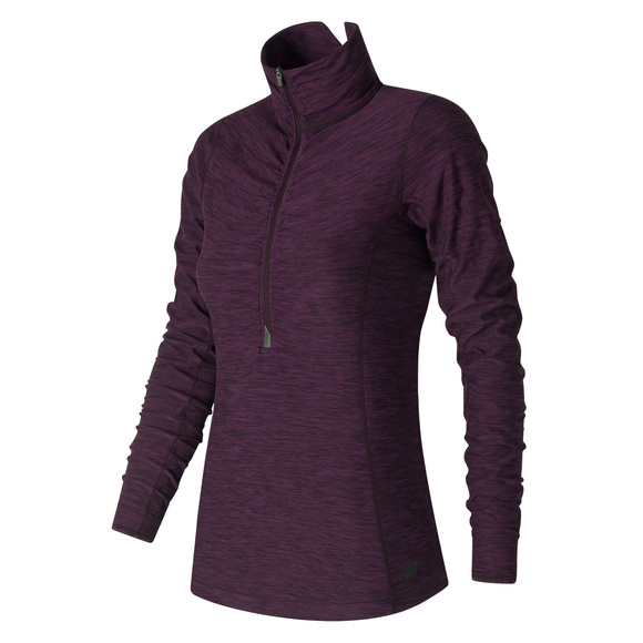 In Transit - Women's Half-Zip Sweater
