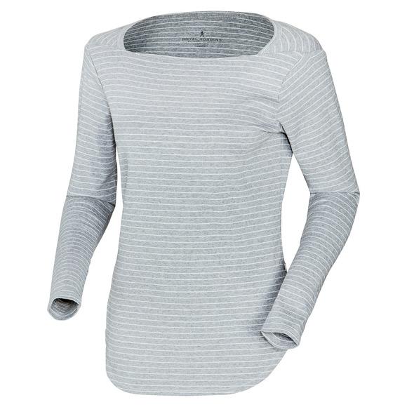 Kickback Square - Women's Long-Sleeved Shirt