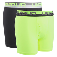 Solid Performance Y - Boys' Fitted Boxer Shorts (Pack of 2)