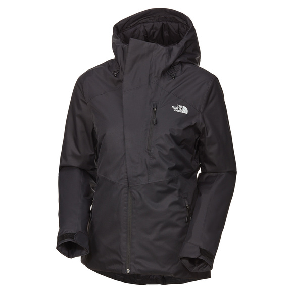 THE NORTH FACE Clementina - Manteau isolé à capuchon pour femme   Sports  Experts 4f104ba23055