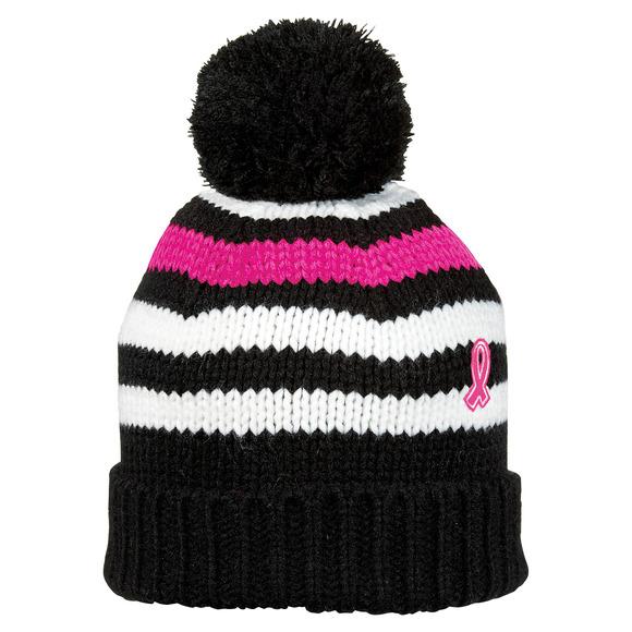 Tuque en tricot pour femme - Pour soutenir la Fondation du cancer du sein
