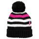 Tuque en tricot pour femme - Pour soutenir la Fondation du cancer du sein  - 0