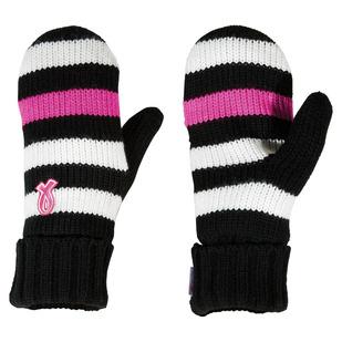 Mitaines en tricot pour femme (P/M) - Pour soutenir la Fondation du cancer du sein