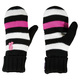 Women's Knit Mitts (S/M) - In Support of Canadian Breast Cancer Foundation - 0