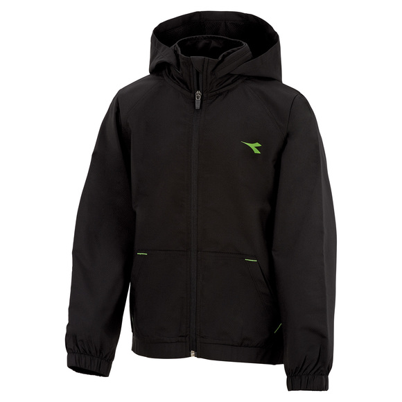 Woven Jr - Boys' Hooded Jacket