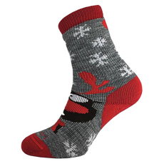 Holiday Mid Jr - Junior Cushioned Ski Socks
