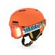 Crüe/ Rev Combo Jr - Junior Winter Sports Helmet and Goggle Set - 0