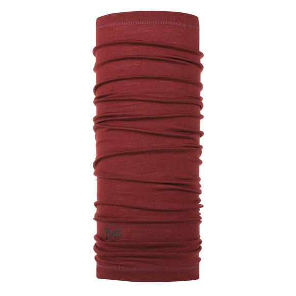 Lightweight Solid Wine - Adult Merino Wool Neck Warmer