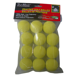 17352 - Golf Practice Balls (Pack of 12 balls)