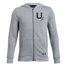 Rival Fleece Logo - Boys' Full-Zip Hoodie