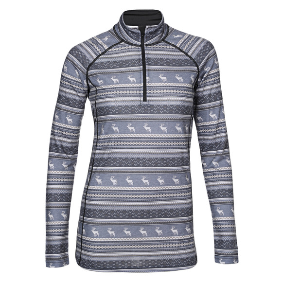 Body 2 - Women's Half-Zip Sweater