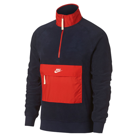 8ed2f9cb2653 NIKE Sportswear - Men s Half-Zip Sweater