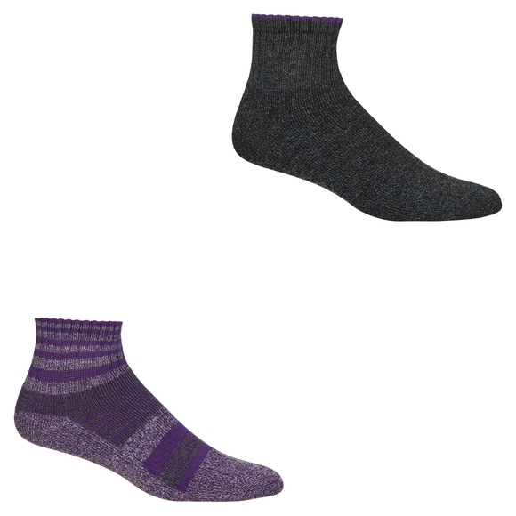Outdoor - Women's Ankle Socks (Pack of 2 Pairs)