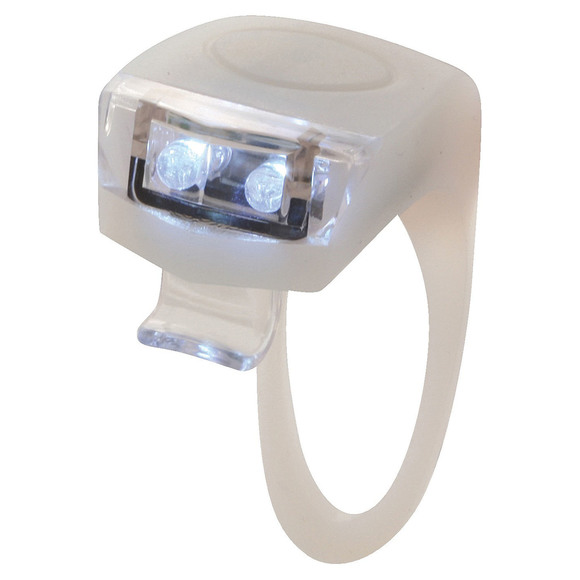 Flex 2 - White Bright Front Light For Bike