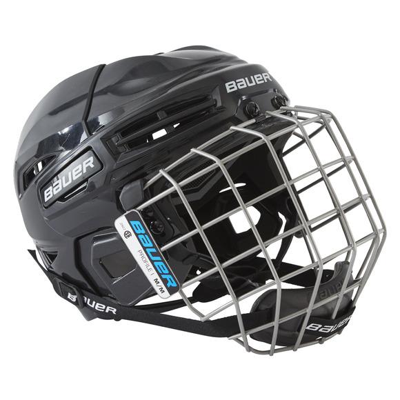 IMS 5.0 Combo Sr - Casque et grille de hockey pour senior