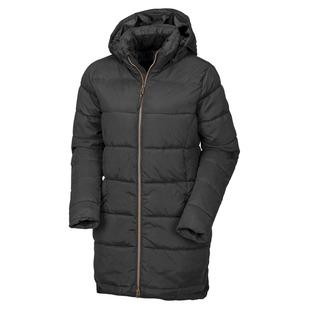 Control - Manteau isolé à capuchon pour femme