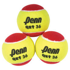 QST 36 Felt Jr - Reduced Speed Tennis Balls (Pack of 3)