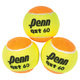 QST 60 Felt Jr - Reduced Speed Tennis Balls (Pack of 3) - 0