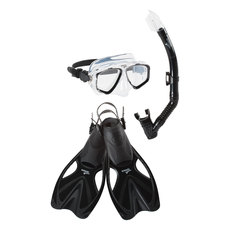 Adventure Sr Trio - Adult Mask, Snorkel and Fins