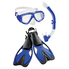 Adventure Trio - Adult Mask - Snorkel and Fins