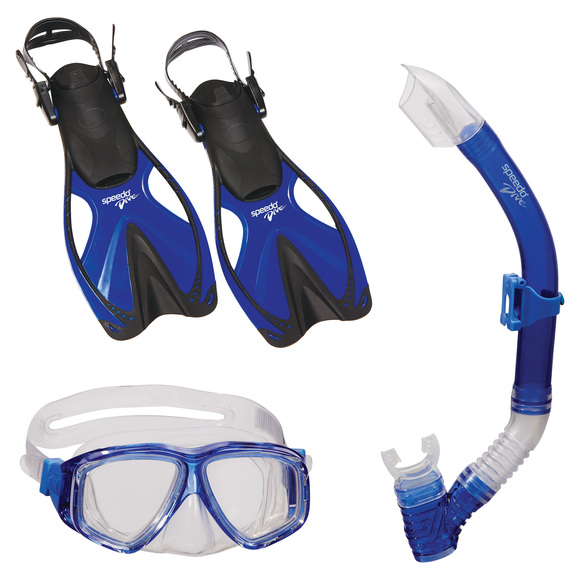 Adventure Jr Trio - Junior Mask - Snorkel and Fins