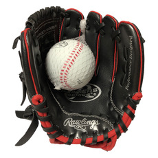 "Players Combo (9"") - Junior Baseball Glove and Ball Kit"