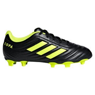 Copa 19.4 FG Jr - Chaussures de soccer extérieur pour junior