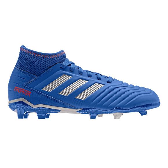 Predator 19.3 FG Jr - Chaussures de soccer extérieur pour junior