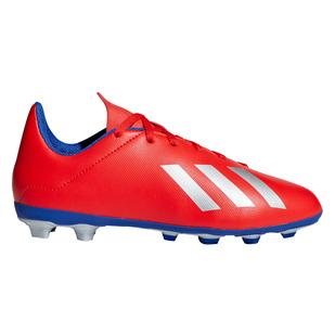 X 18.4 FxG Jr - Chaussures de soccer extérieur pour junior