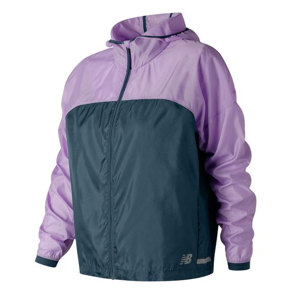 Light Packjacket - Women's Hooded Running Jacket