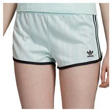Green 3-Stripes - Women's Shorts