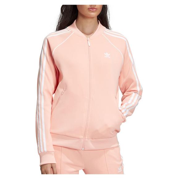 9cc0e71edf336 ADIDAS ORIGINALS Adicolor SST - Women's Full-Zip Track Jacket