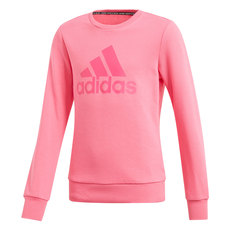 YG Must Haves Badge Of Sport - Girls' Fleece Sweatshirt