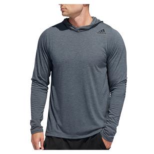 FreeLift Tech Easy - Men's Hooded Long-Sleeved Shirt