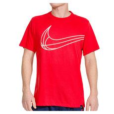 Swoosh Basketball - Men's T-Shirt