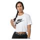 Sportswear Essential - T-shirt écourté pour femme - 0