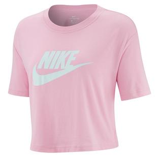 Sportswear Essential - T-shirt écourté pour femme