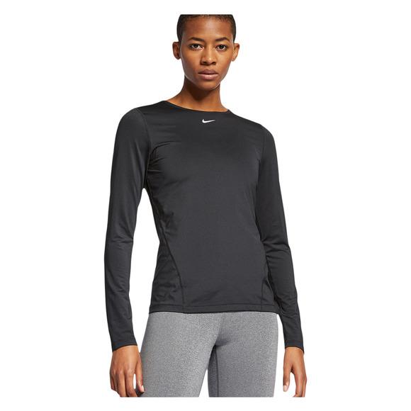 4b46ece0f NIKE-PRO Pro Mesh - Women's Training Long-Sleeved Shirt   Sports Experts
