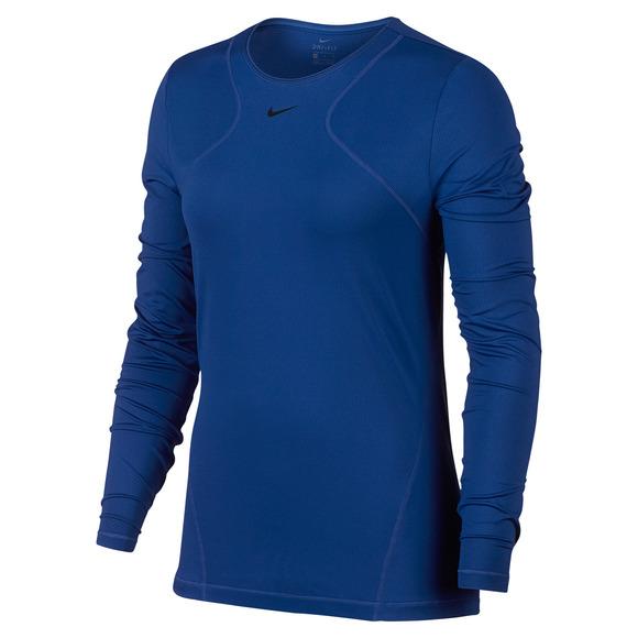 3c0d9d0a7d NIKE-PRO Pro Mesh - Chandail d'entraînement pour femme | Sports Experts