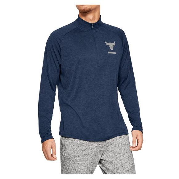 Project Rock Tech - Men's Training Half-Zip Sweater