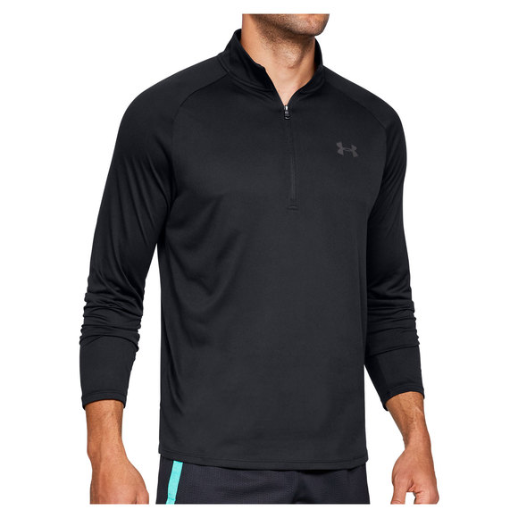 93f43c0144 UNDER ARMOUR Tech 2.0 - Men's Training Half-Zip Long-Sleeved Shirt
