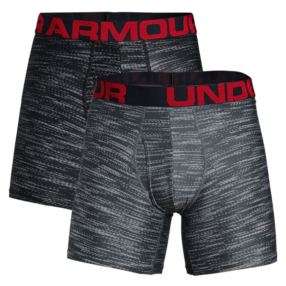 327a34b8b7bb8 UNDER ARMOUR Tech - Men's Fitted Boxer Shorts (Pack of 2)   Sports ...