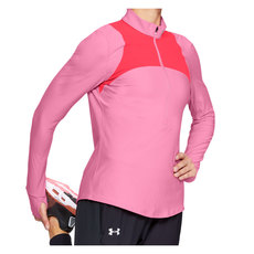 Qualifier - Women's Half-Zip Long-Sleeved Shirt
