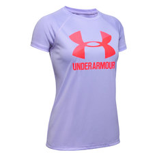 Big Logo Jr - Girls' Athletic T-Shirt