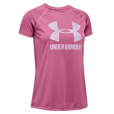 Big Logo Jr - Girls' Athletic T-Shirt