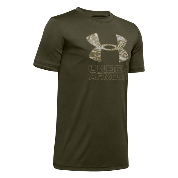 Print Fill Jr - Boys' Athletic T-Shirt