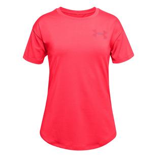 HeatGear Armour Jr - Girls' Training T-Shirt