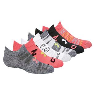 Essential 2.0 Jr - Junior Ankle Socks (Pack of 6 Pairs)