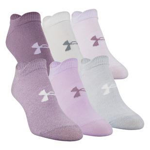 Essential No Show - Socquettes pour femme (Paquet de 6 paires)